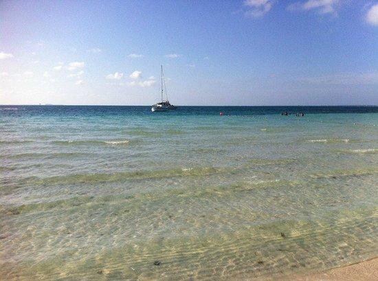 Presidente InterContinental Cancun Resort: La playa del hotel