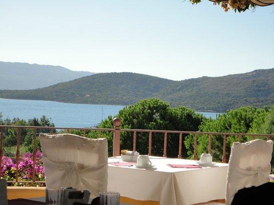 Park Hotel Cala di Lepre & Spa : vue salle à manger