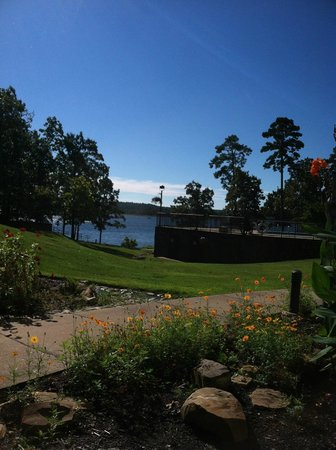 DeGray Lake Resort State Lodge : our bottom floor view