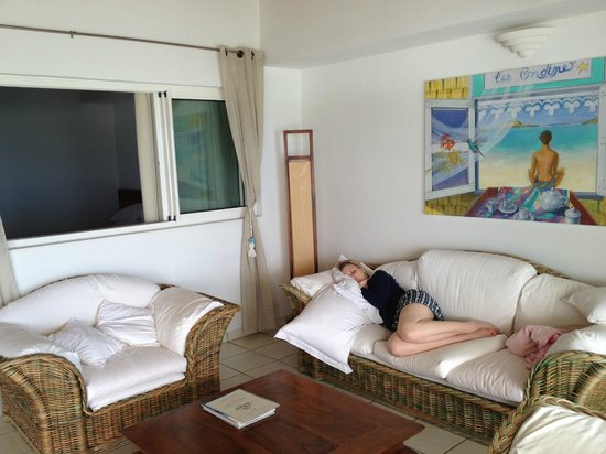 Hotel Les Ondines Sur La Plage: Living Room
