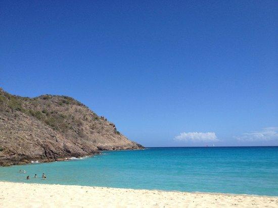 Hotel Les Ondines Sur La Plage: Saline Beach