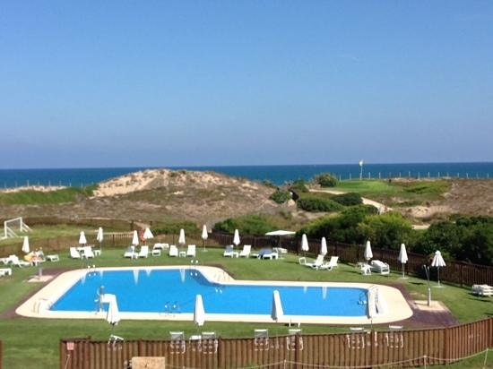 Parador de El Saler : the pool area at El Saler