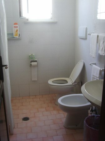 Hotel Country Club: il bagno