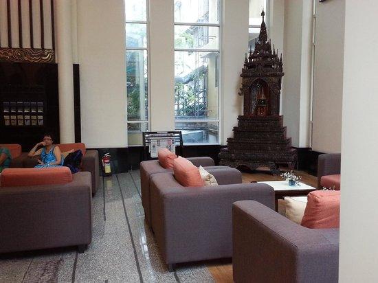 Pinnacle Lumpinee Park Hotel: Lounge