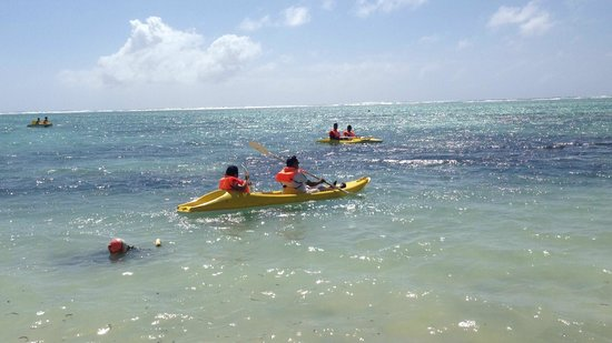 Le Surcouf Hotel & Spa : Kayak at the hotel