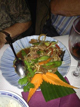 Ancre de Chine : Rindfleisch Sechuan