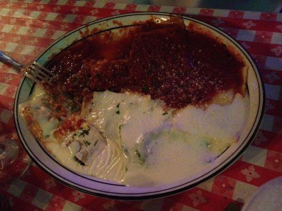 DiBella's Italian Restaurant: Ravioli Combo $15.95