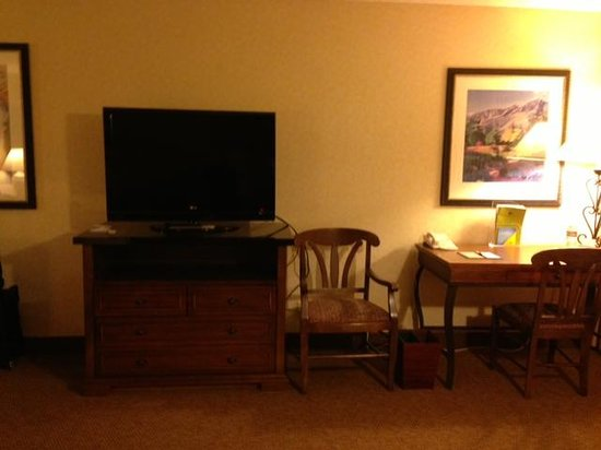 Doubletree Missoula/Edgewater: Nice TV
