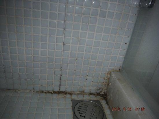 Mio Bianco Resort: mouldy shower