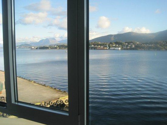 Quality Hotel Waterfront Alesund: Utsikten fra rommet i 4.etg