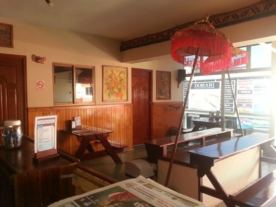 Hotel Bali Panama: Dining Area