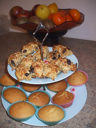 Carranross House: homebaking