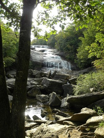 Pisgah Inn: Nearby waterfalls at Graveyard Fields