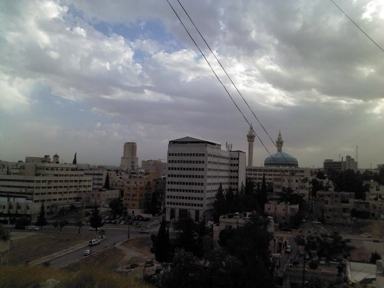 Toledo Amman Hotel: From Room 703, to west