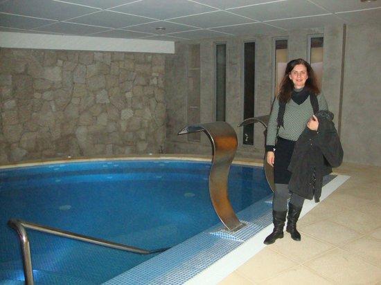 Hotel Cristal: Piscina aquecida - maravilhosa