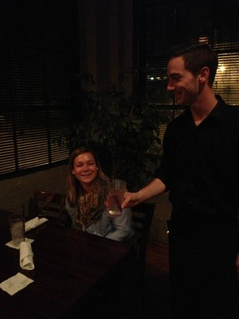 RA Bistro : Tucker was our server and was great!