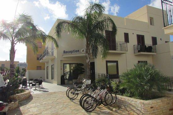 Hotel Sikania : Reception