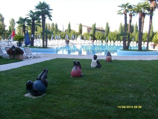 Antares Hotel: The swimming pool of the hotel