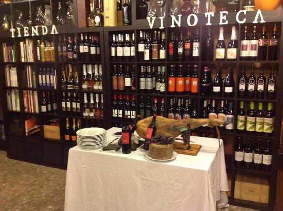 Puracepa Malaga: Noche tematica al Jamon y Vino!!!