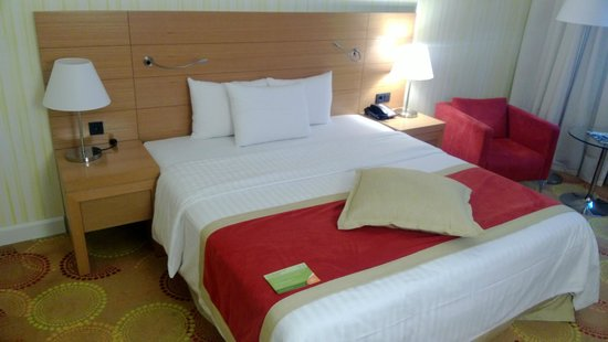 Courtyard by Marriott Budapest City Center : Room view 2