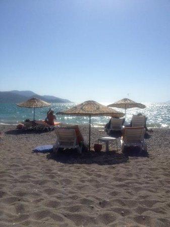 Hotel Letoon: lovely warm sea .