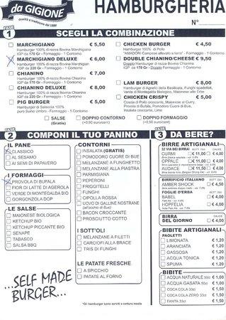 Pomigliano d'Arco, Italia: Scheda panino