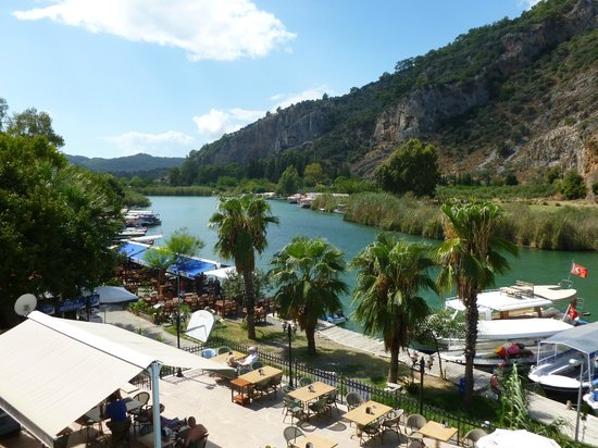 Dalyan Tezcan Hotel: View from front room