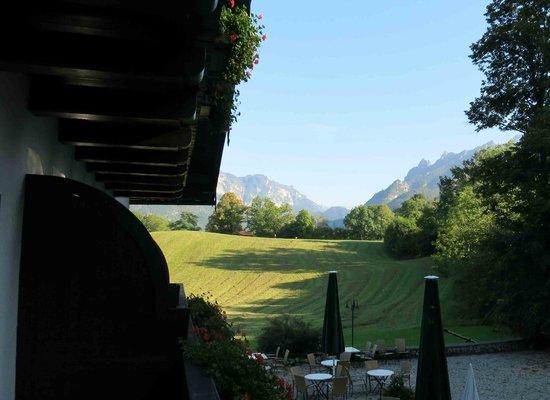 Klosterhof: Ausblick vom Balkon