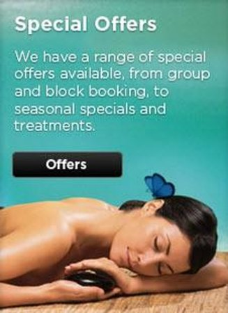 15 Royal Terrace: Be sure to check out our special offers for our spa