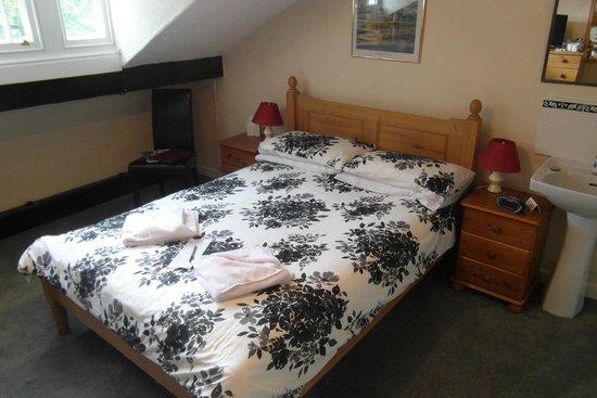Elim Lodge: standard family room sleeps 3