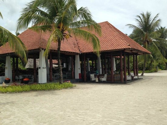 Four Seasons Resort Langkawi, Malaysia: Grill Restaurant für Mittag und Abend