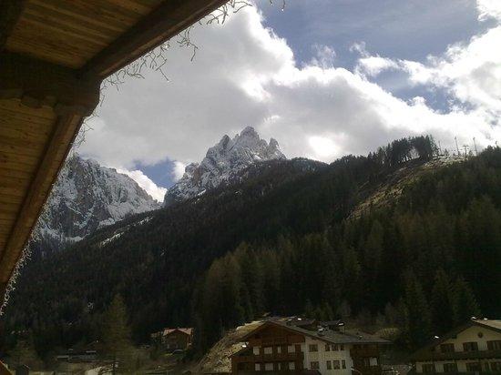 Hotel Garni San Nicolo: vista dalla camera