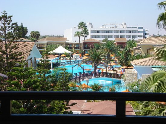 Atlantica Aeneas Hotel: View from our room
