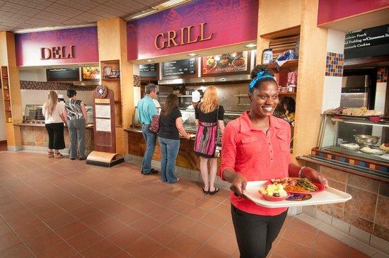 Tamarack : Our food court