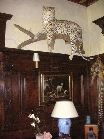 Chateau de Beneauville : Dans le salon