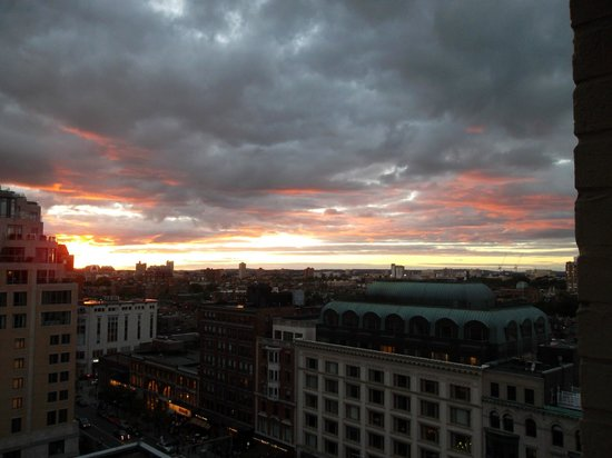 Lenox Hotel: View of Boston from the 11th floor