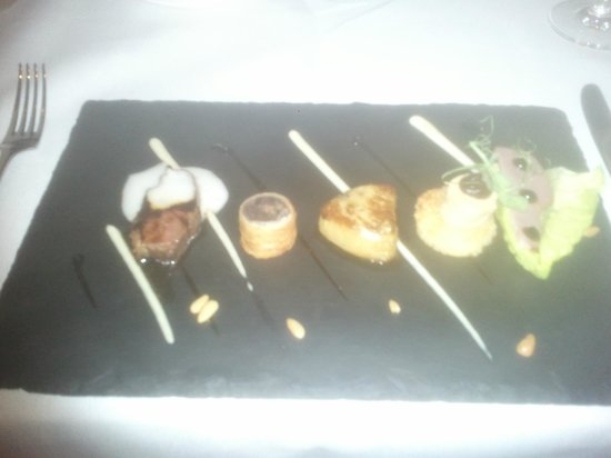 MacNean Restaurant: Selection of Duck Taster menu