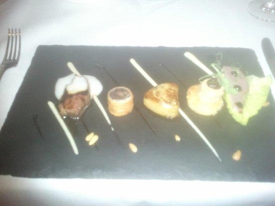 MacNean Restaurant : Selection of Duck Taster menu