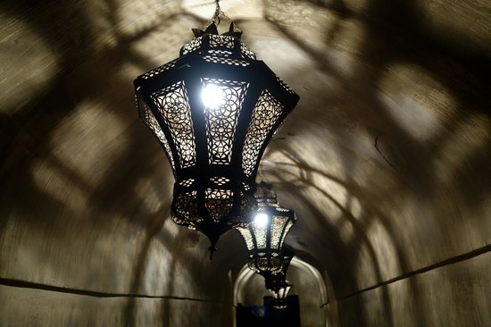 Riad Dar Darma: beautiful lantern