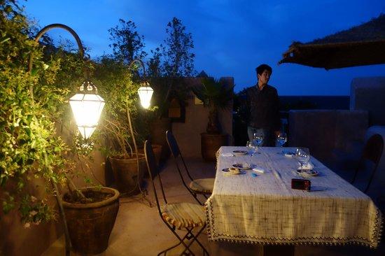 Riad Dar Darma: dinner