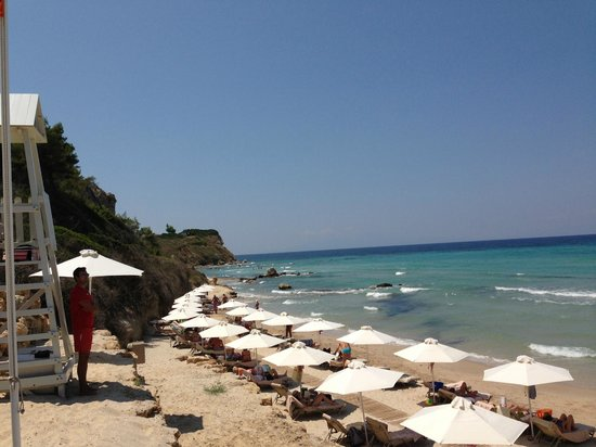 Sani Beach: Beach area