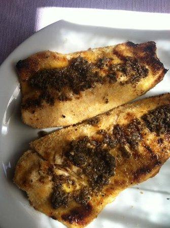Il Castoro: filetto di trota tartufata