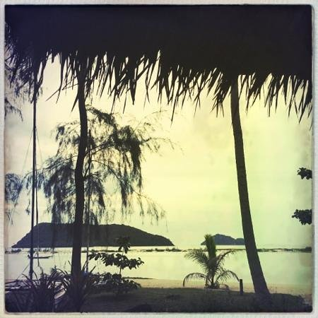 Baan Manali Resort : vu du bungalow