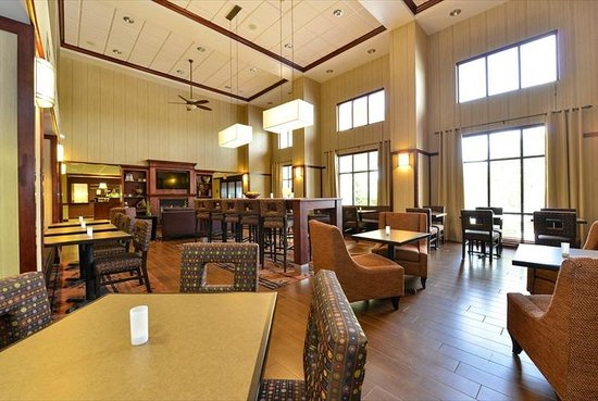 Hampton Inn & Suites Richmond : Breakfast area