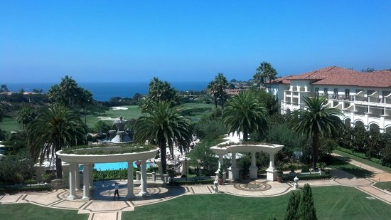 Monarch Beach Resort: St. Regis grounds looking out to ocean