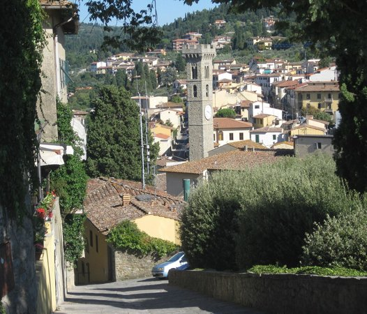San Domenico Fiesole: View of the town