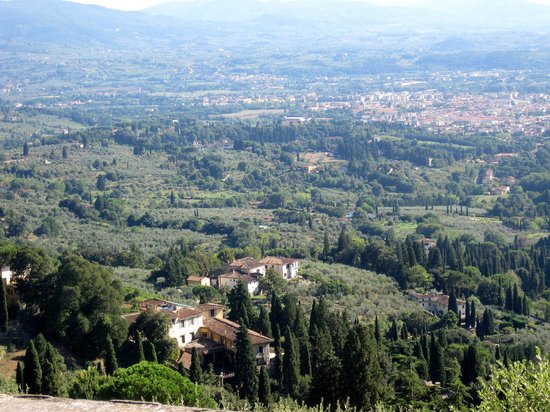 San Domenico Fiesole: looking into Florence