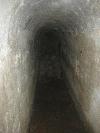 ปราสาทซานเฟลิปเปเดบาราจาส: túnel