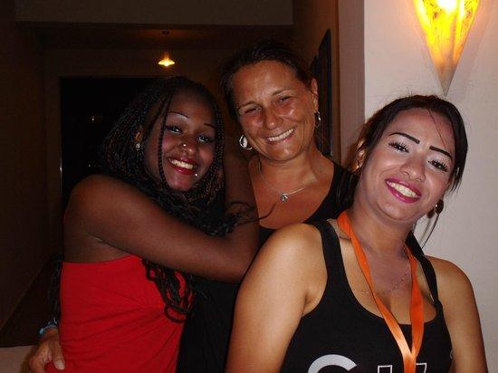 Hotel Coral Sun Beach Resort : Super Begrüßung zum Abendbüffet
