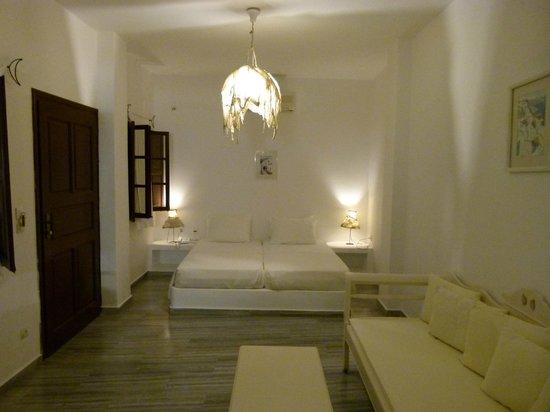 Bellonias Villas: Notre chambre, très spacieuses ...